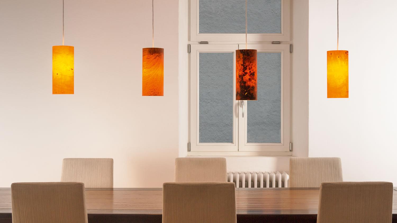 pendelleuchte holz raum12. Black Bedroom Furniture Sets. Home Design Ideas